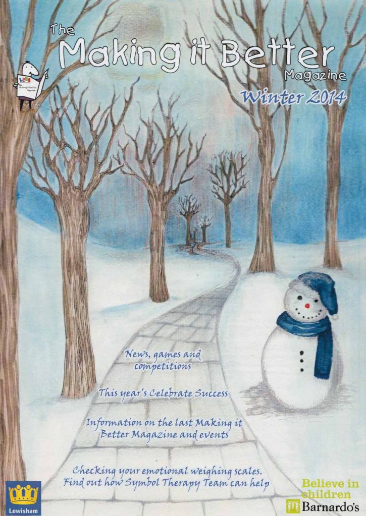 Barnaardo's Winter 2013- front cover